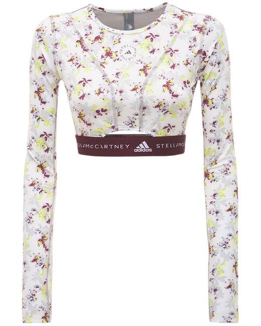 Adidas By Stella McCartney Asmc Future Playground クロップトップ Multicolor