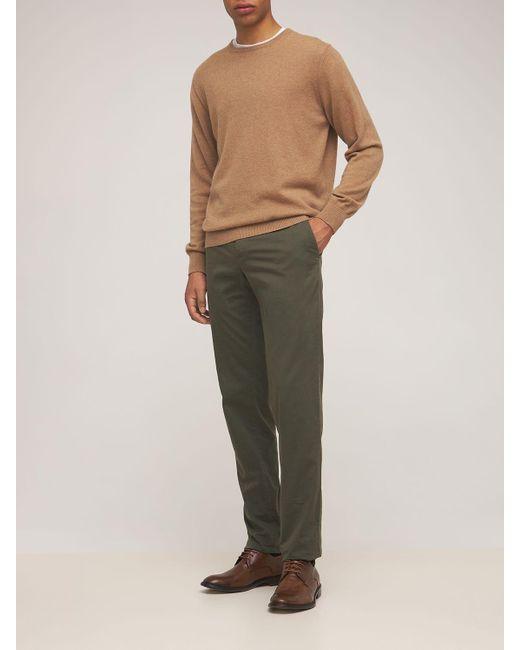 Кожаные Туфли На Шнуровке 30mm Ernesto Dolani для него, цвет: Brown