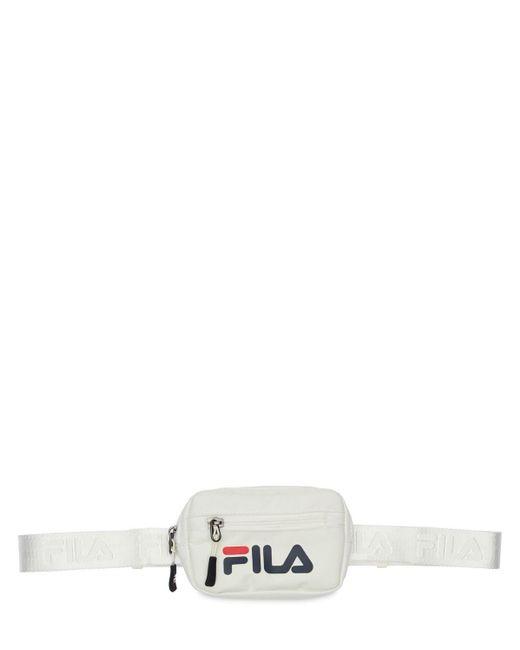 Сумка На Пояс С Логотипом Fila, цвет: White
