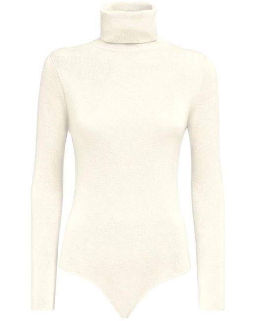 Loulou Studio Galora ウールボディスーツ White