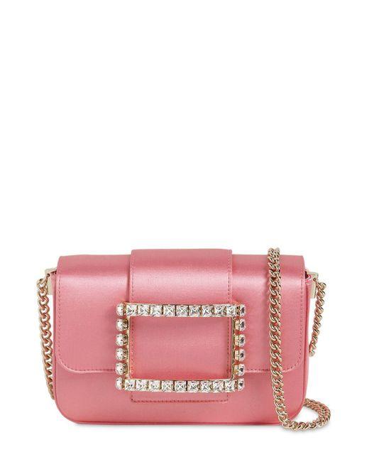 """Roger Vivier Pink Mikro Tasche """"trés Vivier"""""""