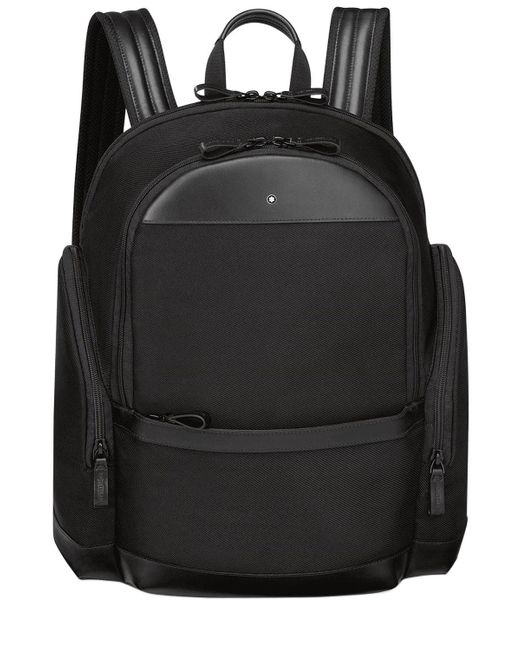 Montblanc - Black Medium Nightflight Nylon Backpack - Lyst