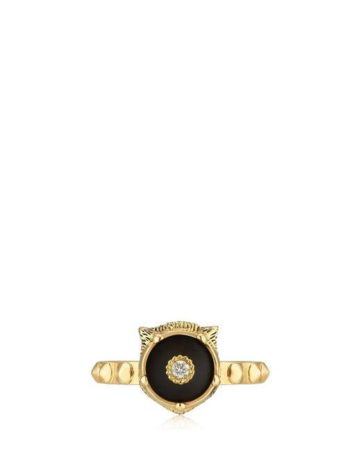 Gucci - Metallic 18kt Gold Le Marché Des Merveilles Ring - Lyst