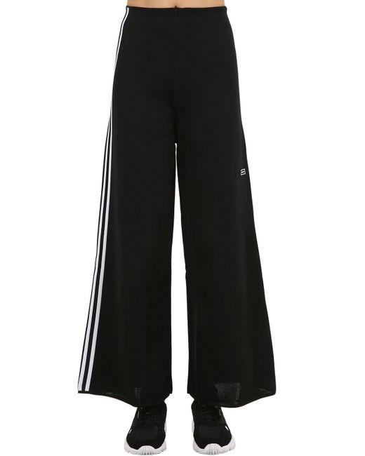 Adidas Originals ワイドトラックパンツ Black