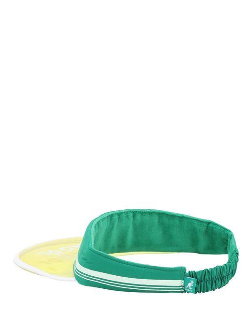 メンズ Kangol Retro サンバイザー Green