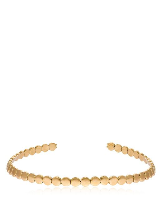 Elizabeth and James - Metallic Willow Choker - Lyst