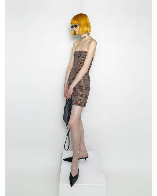 ROKH コットンブレンドミニスカート Multicolor