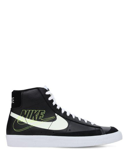 "Кроссовки ""blazer Mid 77"" Nike для него, цвет: Black"