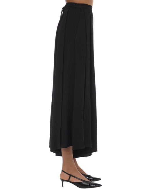 Pantaloni In Acetato E Viscosa di Proenza Schouler in Black