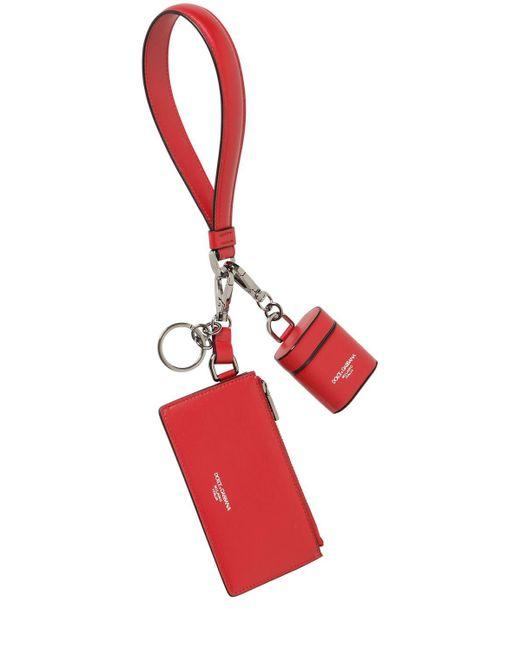 Клатч И Чехол Для Air Pod Dolce & Gabbana для него, цвет: Red