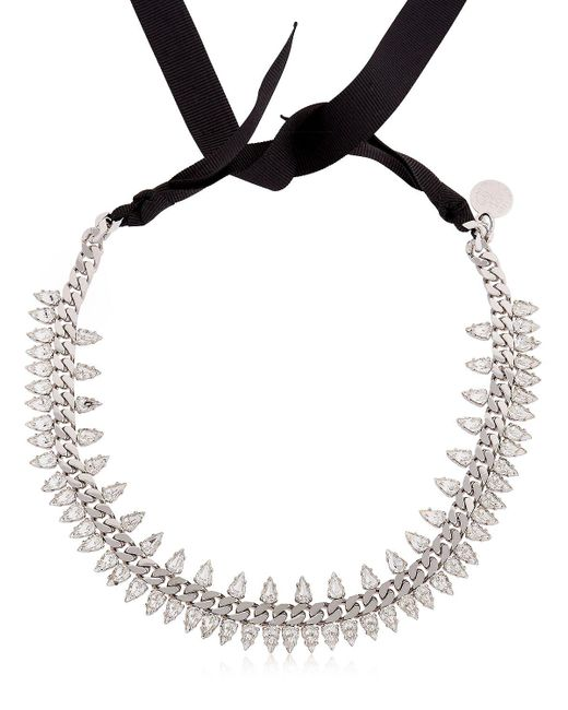 Ellen Conde - Metallic Brilliant Jewelry Spike Crystal Necklace - Lyst
