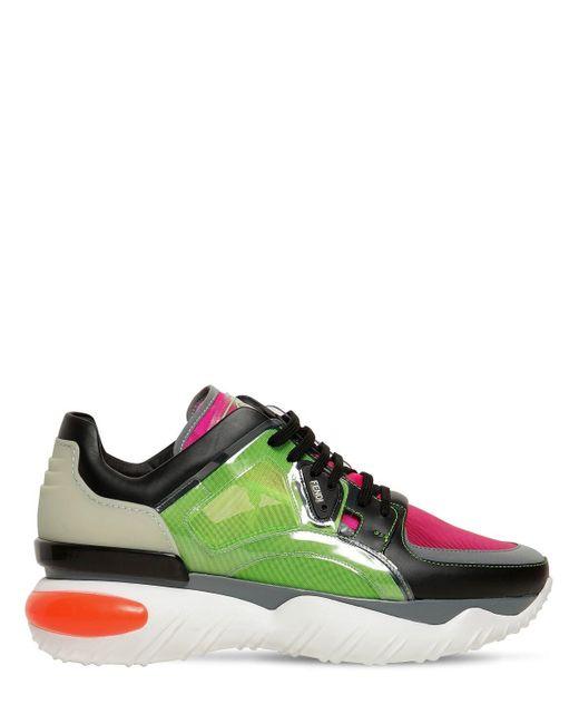 Sneakers Transparentes Fendi pour homme en coloris Multicolor