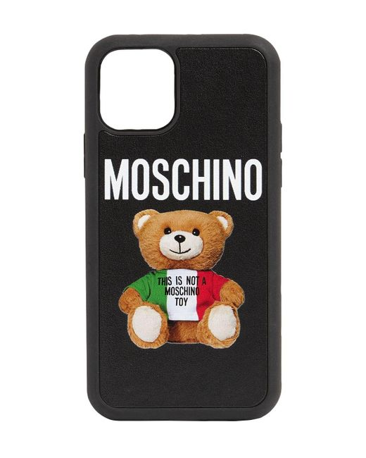 Moschino Teddy Iphone 11 Pro ケース Black