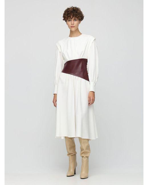 Proenza Schouler クレープドレス White