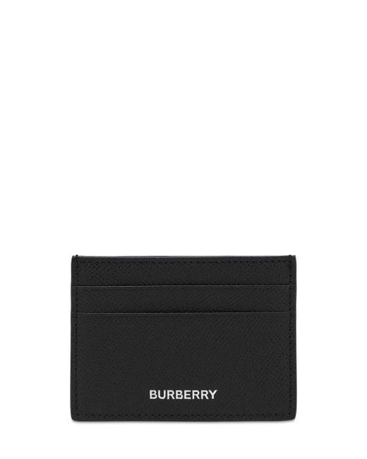 """Porta Carte Di Credito """"Sandon"""" In Pelle di Burberry in Black da Uomo"""