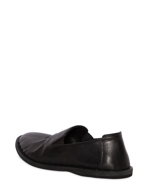 Officine creative WASHED LEATHER SLIP-ON LOAFERS sHg0IpSG