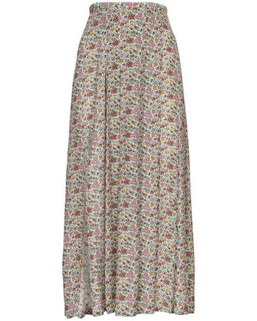 Rixo Georgia シルクブレンドスカート Multicolor