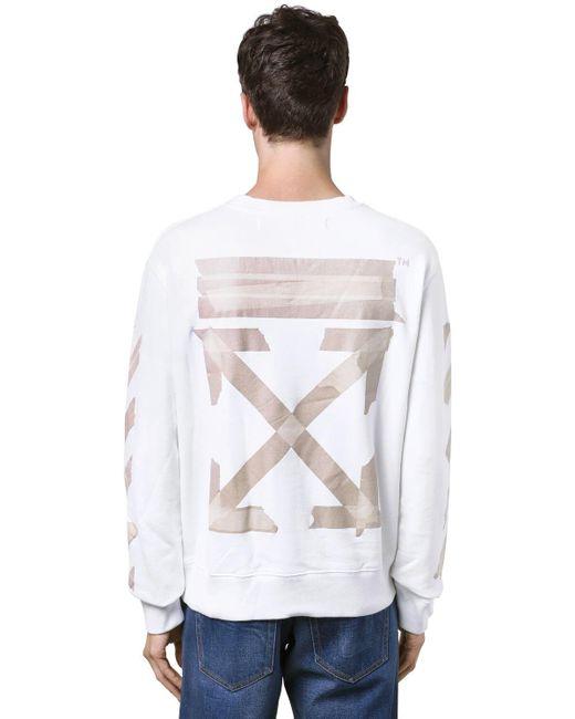 メンズ Off-White c/o Virgil Abloh スリムジャージーtシャツ White