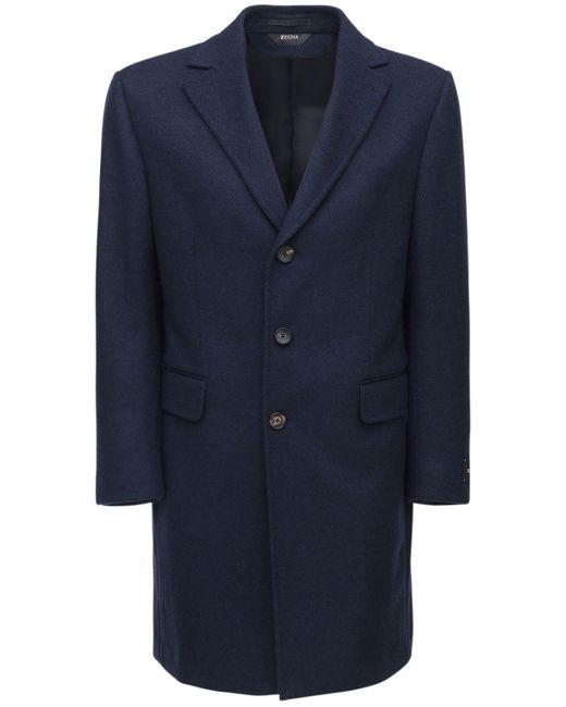 メンズ Z Zegna ウールコート 95cm Blue