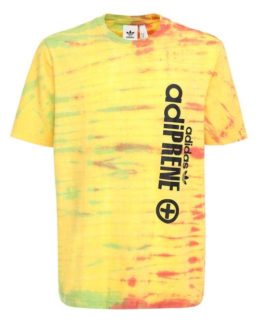 メンズ Adidas Originals Adiprene Tシャツ Yellow