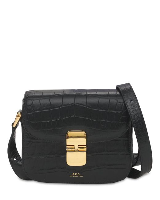 A.P.C. Sac Grace Mini レザーバッグ Black