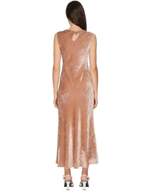 Sies Marjan ベルベットドレス Multicolor