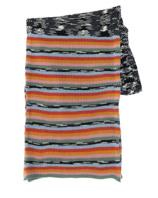 Écharpe En Laine Et Acrylique Missoni en coloris Multicolor