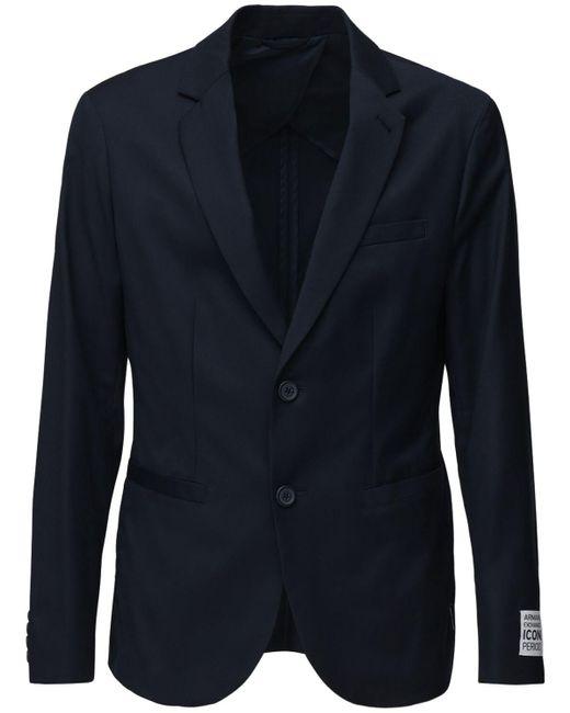 "Блейзер ""icon"" Из Нейлона Armani Exchange для него, цвет: Blue"