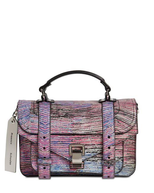 Сумка Ps1 Tiny Limited Edition Proenza Schouler, цвет: Purple