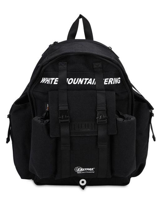 Eastpak Mountaineeringナイロンバックパック Black