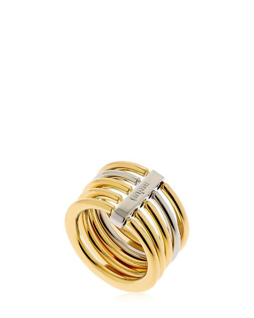 Vita Fede - Metallic Sophia Two Toned Ring - Lyst