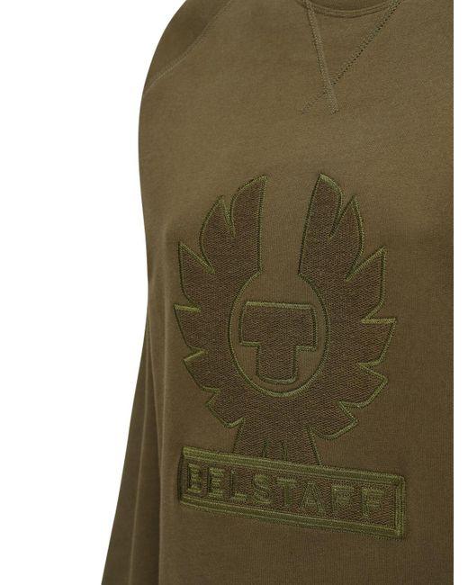 Belstaff コットンスウェットシャツ Green