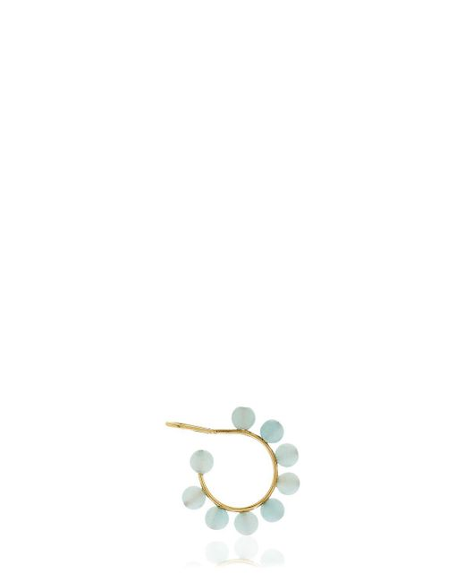 Saskia Diez - Blue Holiday Amazonit Mono Earcuff - Lyst
