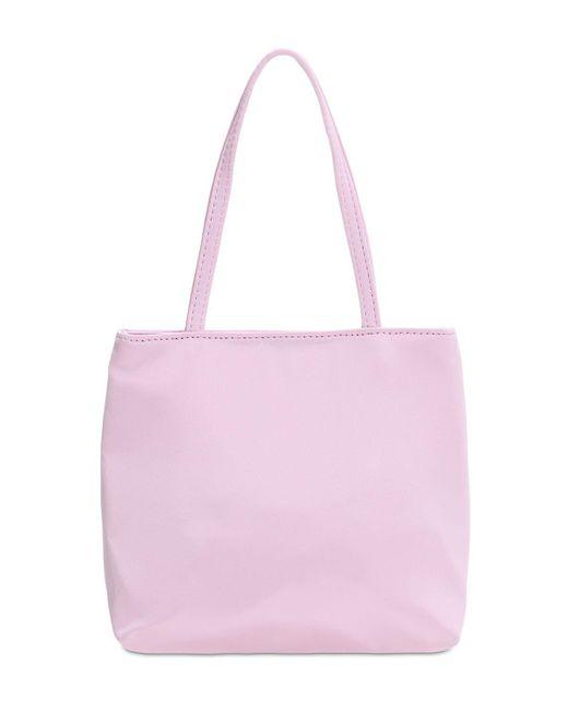 Hai シルク トップハンドルバッグ Pink