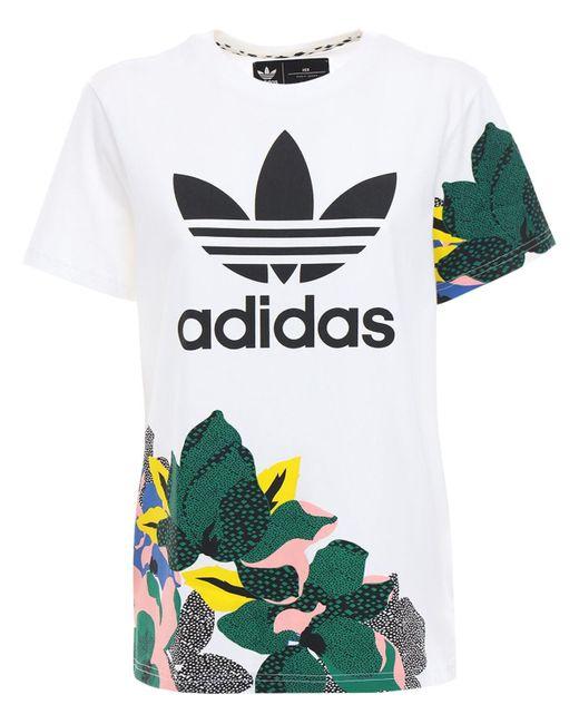 Adidas Originals Bf コットンtシャツ Multicolor