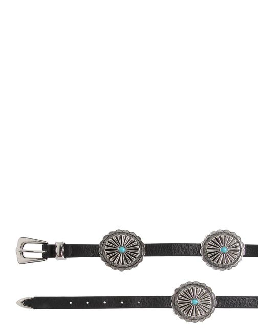 B-Low The Belt - Black 20mm Western Leather High Waist Belt - Lyst