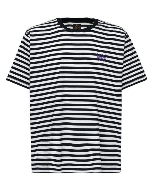 メンズ Needles ジャージーtシャツ Black