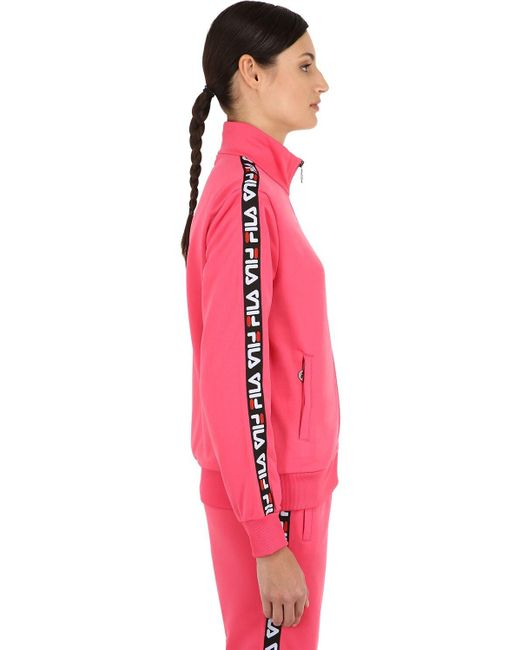 Fila Talli トラックジャケット Pink