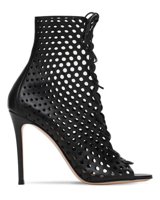 Кожаные Ботинки 105мм Gianvito Rossi, цвет: Black