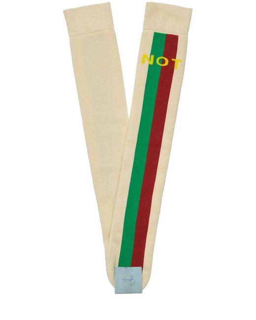 Хлопковые Носки Gucci для него, цвет: Multicolor