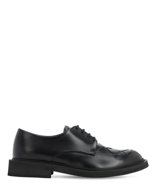 Ботинки На Шнурках Varenne Bottega Veneta для него, цвет: Black