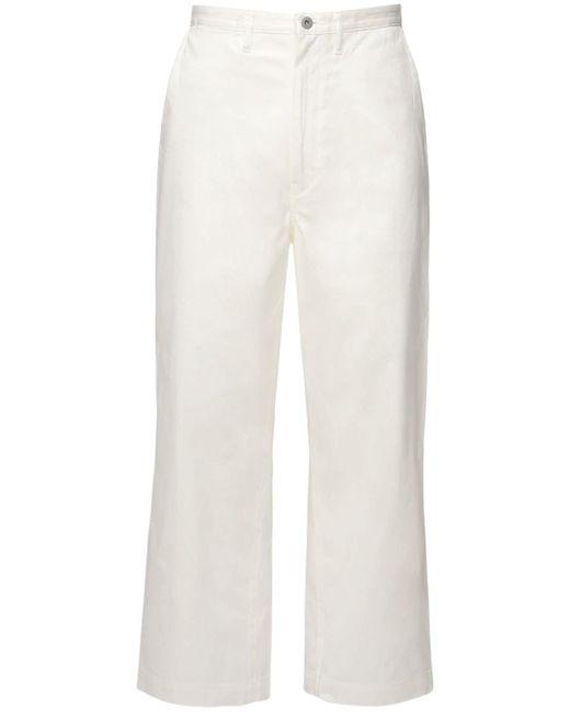 メンズ Junya Watanabe コットンツイルパンツ White
