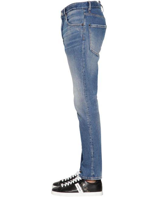 メンズ DSquared² コットンデニムジーンズ 16.5cm Blue