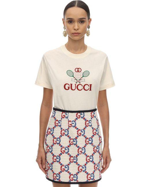Gucci コットンジャージーtシャツ Multicolor