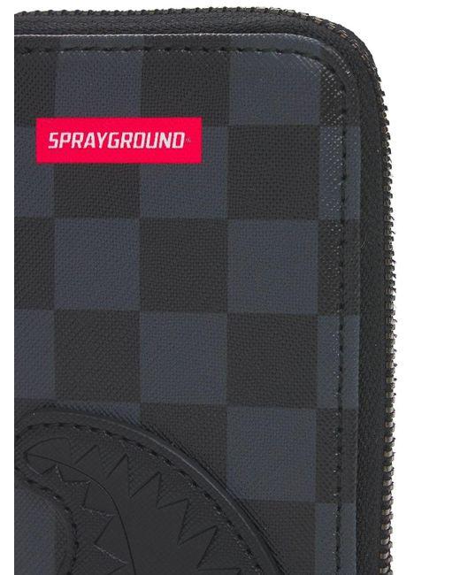 Кошелек Henny Sprayground для него, цвет: Black