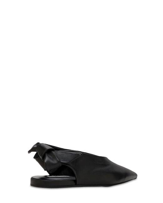 Jil Sander レザーバレリーナ 10mm Black