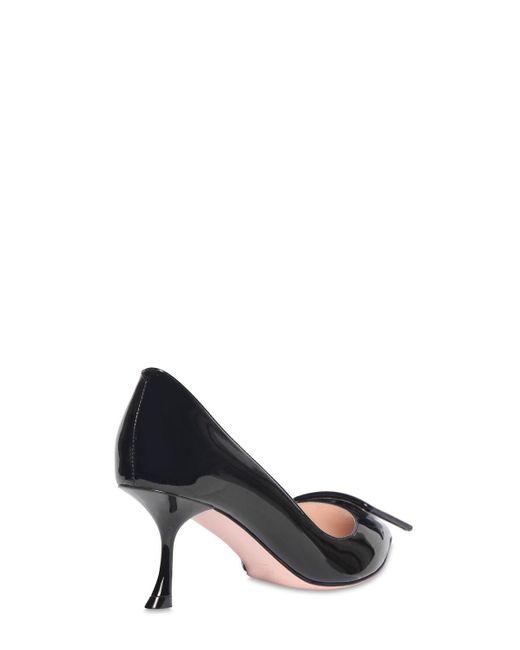 Туфли Из Лакированной Кожи 65мм Roger Vivier, цвет: Black