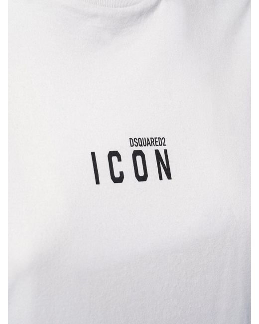 DSquared² Renny Fit Icon ジャージーtシャツ White