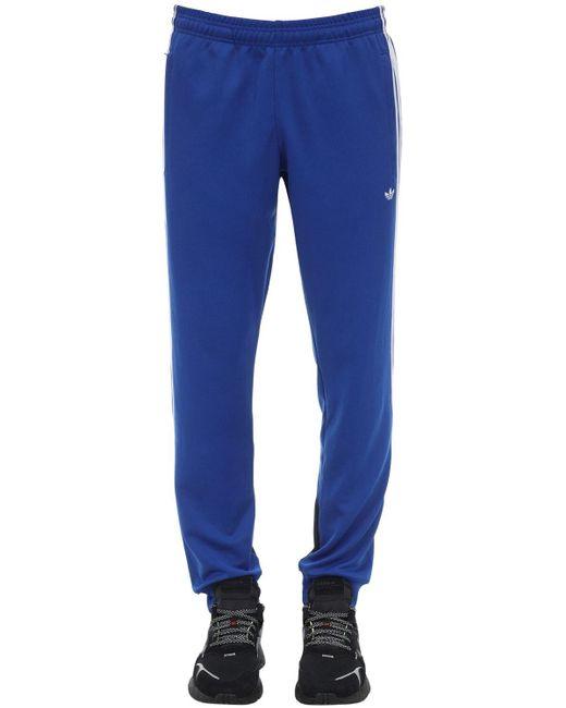 メンズ Adidas Originals トラックパンツ Blue
