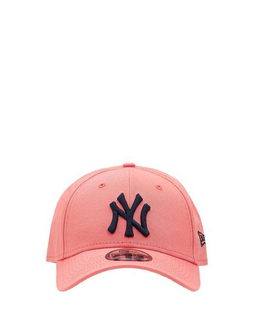 メンズ KTZ Neon Ny Yankees 9forty キャップ Pink